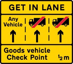 get in lane