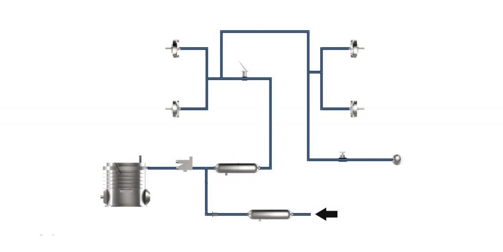 Air braking system
