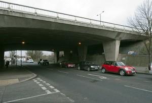 unmarked bridge