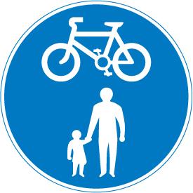shared cycle lane